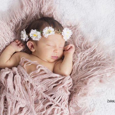újszülött fotózás fejpánt