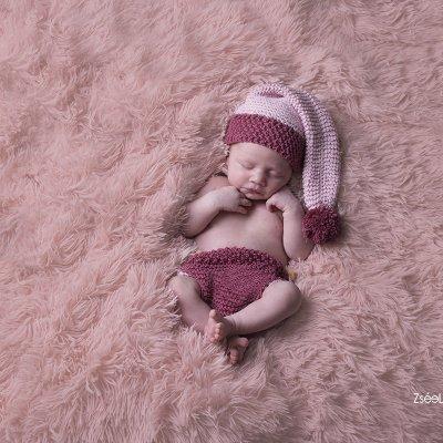 újszülött fotózás otthoni