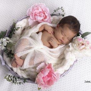 Újszülött fotózás babafotók