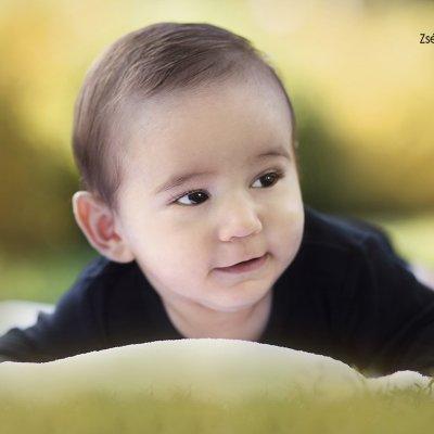szabadtéri baba fotózás
