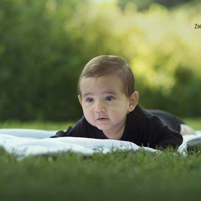 baba fotózás szabadtéren