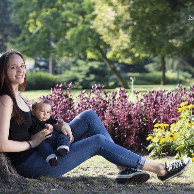 baba anya fotózás szabadtéren