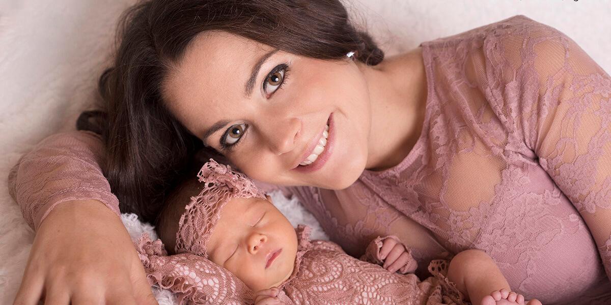 újszülött fotózás otthon